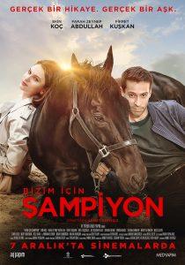 """Filmplakat des türkischen Kinofilms """" Bizim icin Sampion - Für uns ein Champion"""""""