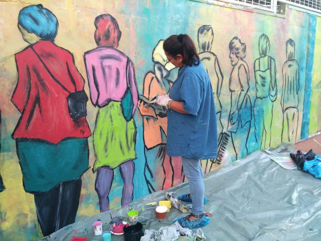 Ataşehir trifft auf Kunst & Künstler, Serap Riedel unterstützt das Kunstprojekt in Istanbul