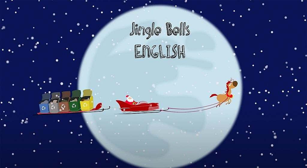 """Jingle Bells, Jingle Bells"" - Mushin Omurca präsentiert 1. Kinderlied Animation"