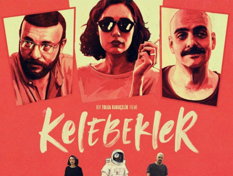 Kelebekler - Butterflys - Filmplakat des türkischen Films