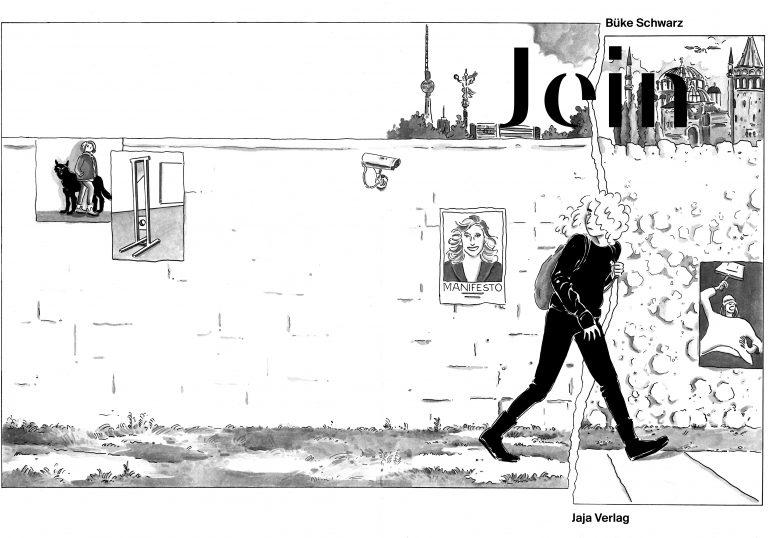 """Buchcover der Graphic Novell """"Jein"""" von Büke Schwarz"""