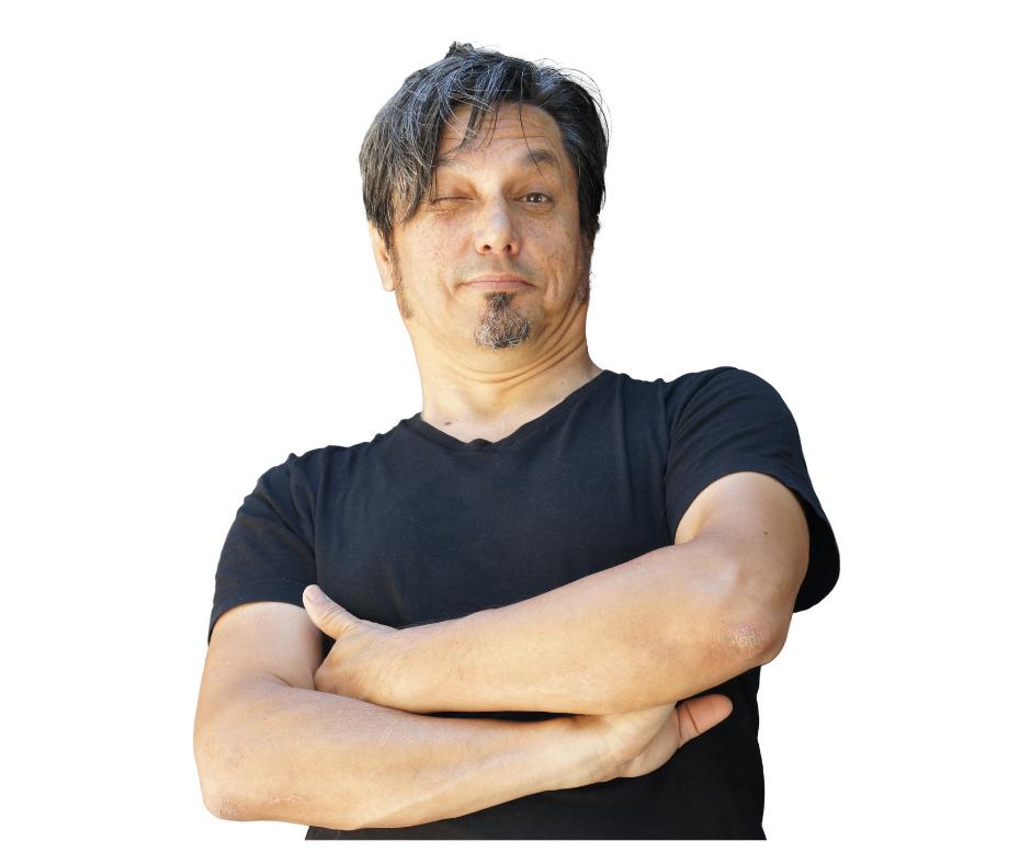 Kabarettist und Cartoonist Muhsin Omurca