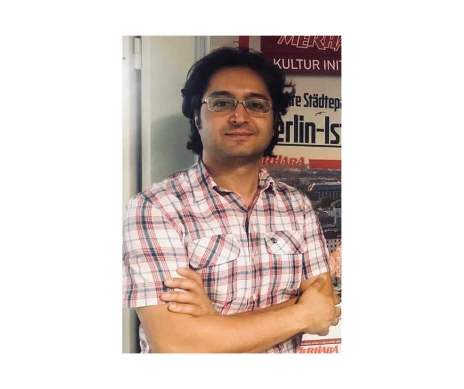 """Murat Tosun - Chefredakteur des Stadtmagazins """"Merhaba Berlin"""""""