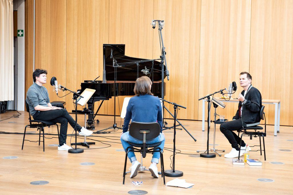 Podcast Theater und Orchester Heidelberg, Elias Grandy, Judith Raspe, Marlte Arkona