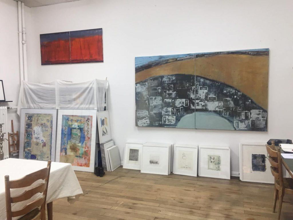 Atelier der Kunstmalerin Süheyla Asci