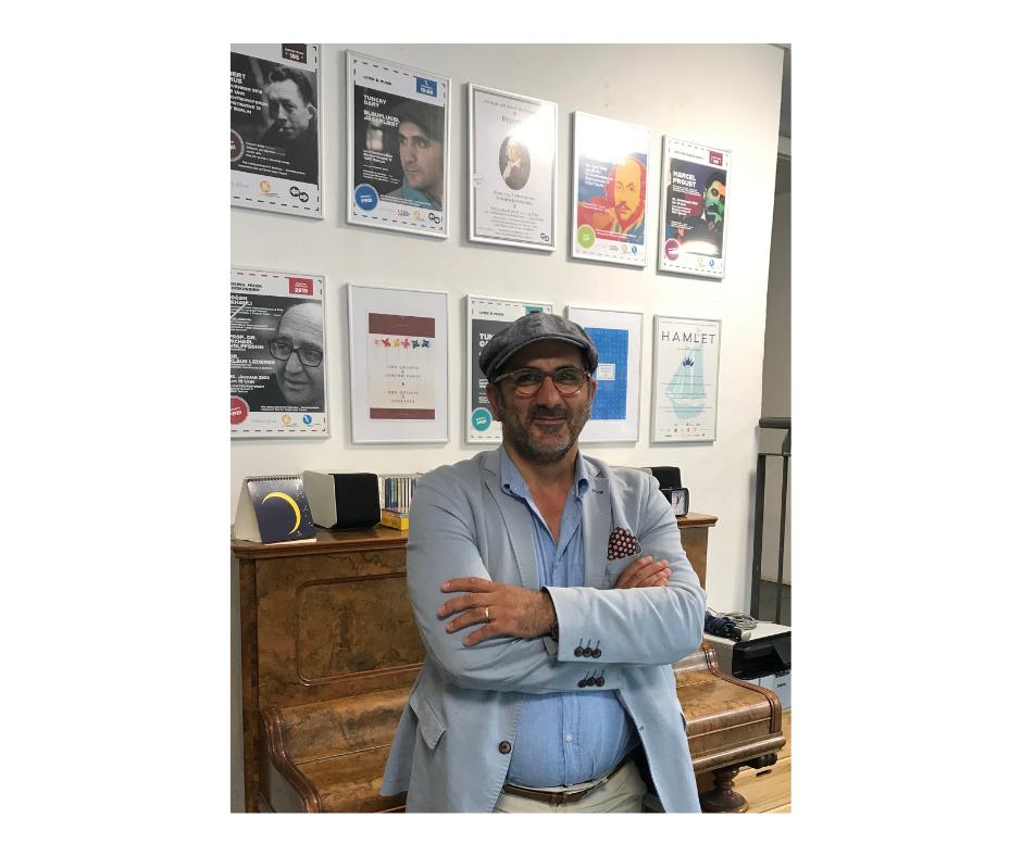 """Im Gespräch mit Tuncay Gary - über die Literatur- & Theaterwerkstatt der Lichtburg-Stiftung und die kommende Vorstellung """"Faust""""."""